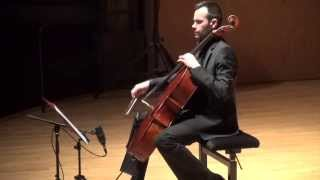 Martin MATALON Traces IX for cello and electronics - Alexis Descharmes, cello