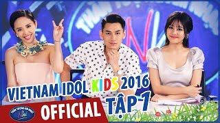 Vietnam Idol Kids 2016 Tập 1 Full HD