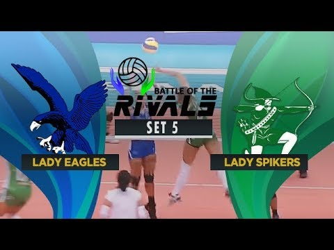ADMU vs. DLSU | Full Game | 5th Set | Battle of the Rivals