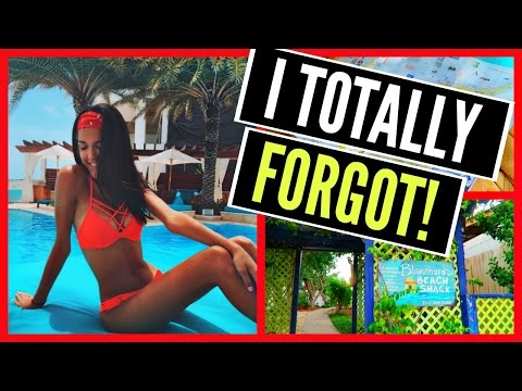 I Can't Believe I Forgot!! || Anguilla Vacation Day 2