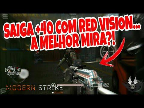 MSO, SAIGA +40 COM RED VISION... A MELHOR MIRA?!