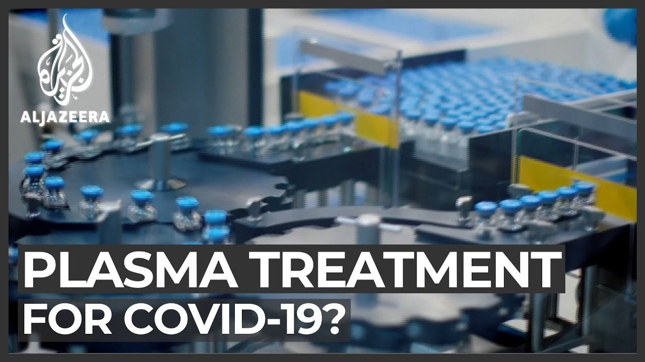 COVID-19: US conducts trials of plasma transfusions thumbnail