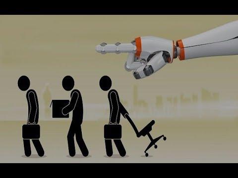 """Le travail, c'est fini ! La robotisation : le risque du """"chômage technologique"""" !"""