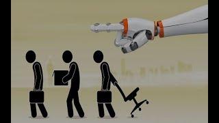 """💼 Le travail, c'est fini ! La robotisation : le risque du """"chômage technologique"""" !"""
