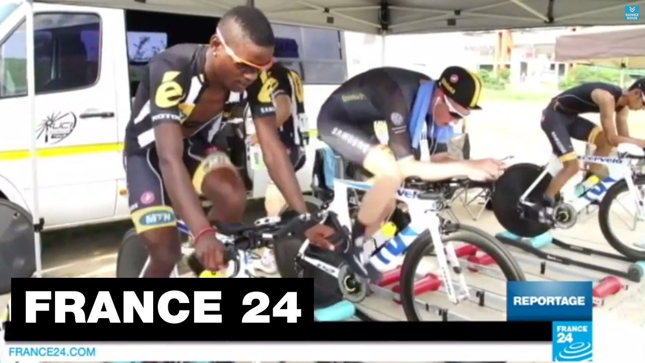 MTN-Qhubeka, 1ère équipe africaine participant au Tour de France - CYCLISME