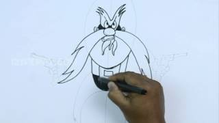 How to Draw Yosemite Sam