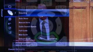 Samsung re-tune your TV - video 3