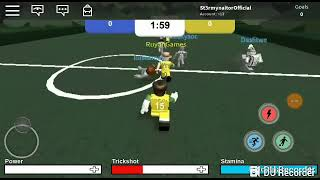 Football on Roblox. Who will be the new CR7?