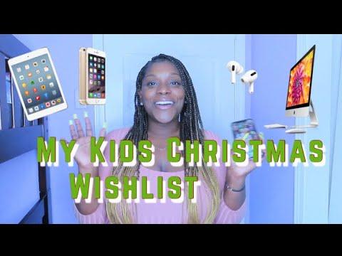 My Kids 2019 Christmas Wishlist 🎄🎁💵💸