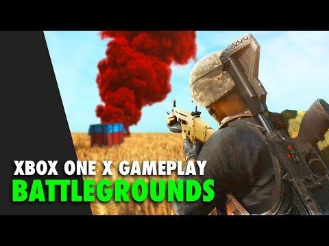 PUBG Xbox One X Gameplay - Fire Roasted Chicken!