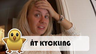 ÄTER KYCKLING I MUKBANG   vlog