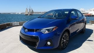 2014 Toyota Corolla First Drive Review: Cute but not Sexy?