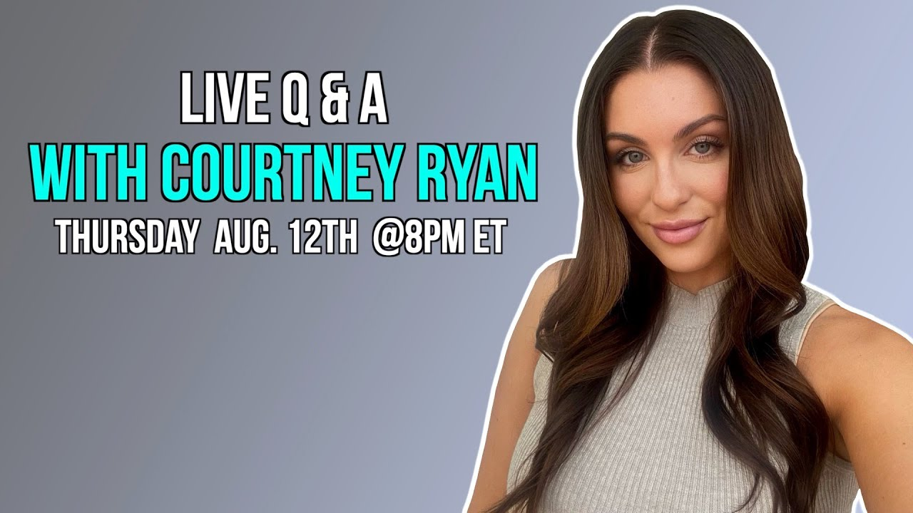 Live Q&A With Courtney Ryan (COME ASK ME QUESTIONS!)