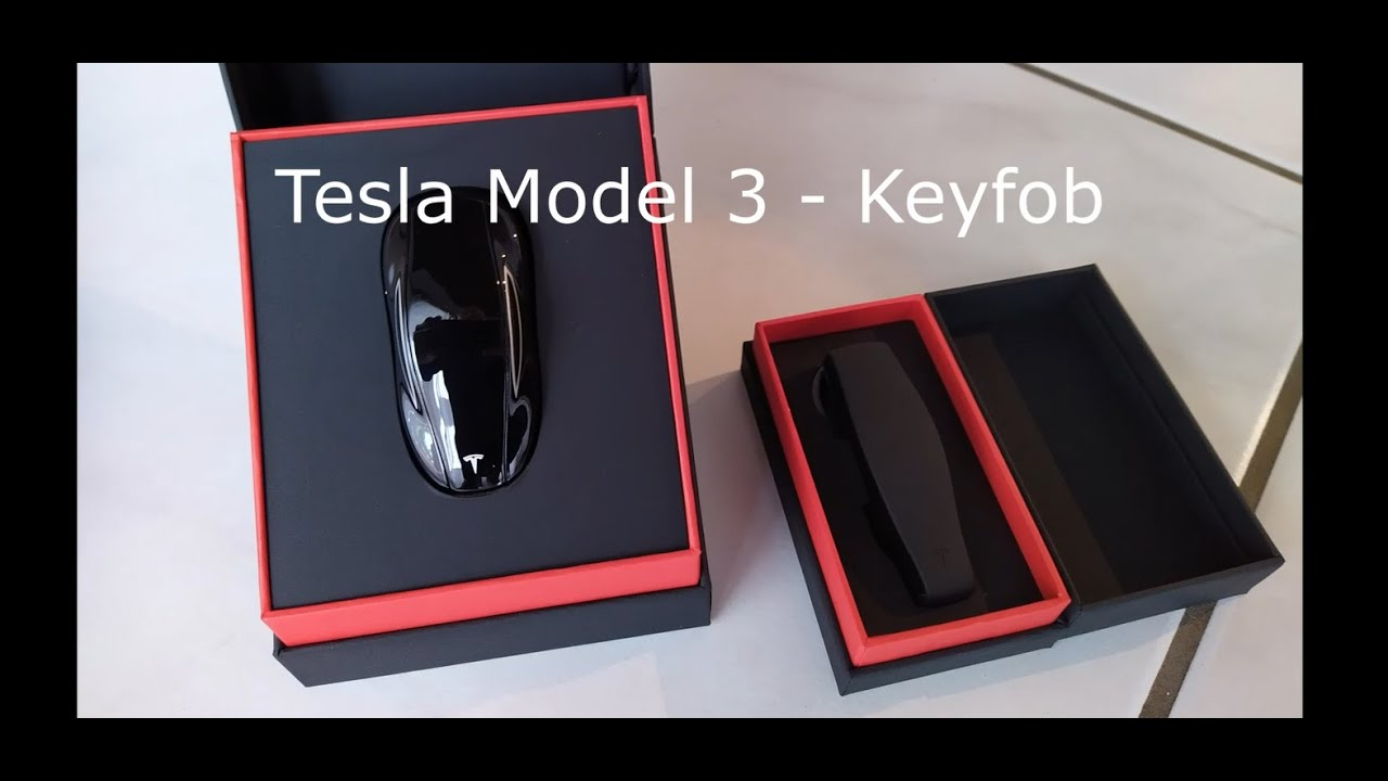 Key Fob (keyfob) - der Autoschlüssel für das Tesla Model 3 ...