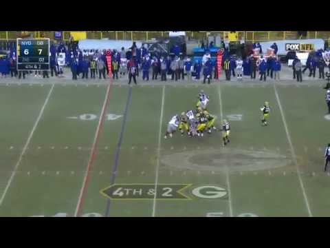 Aaron Rodgers Hailmary Touchdown Pass To Randall Cobb - NFL Playoffs NYGvsGB