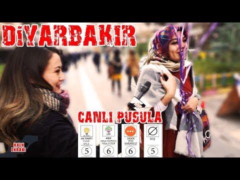 Diyarbakır Yerel Seçimde AKP Mi HDP Mi Diyecek? 2019 Diyarbakır Canlı Yerel Seçim Anketi