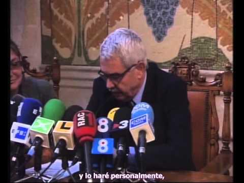 Pasqual Maragall anuncia que tiene Alzheimer
