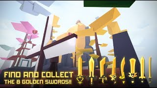 All 8 Golden Swords Locations | ROBLOX Ninja Wizard Simulator