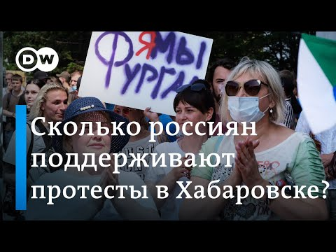 Протесты в Хабаровске: что знают и говорят в России о митингах в поддержку экс-губернатора Фургала
