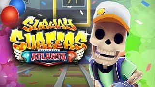 Subway Surfers Atlanta Android Gameplay #3
