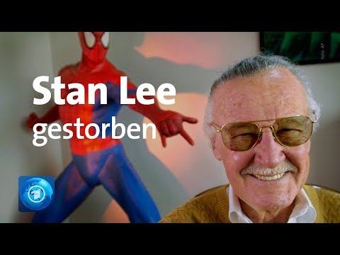 Vater der Superhelden: Comic-Autor Stan Lee ist tot
