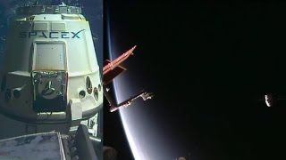 SpaceX Dragon CRS-10 departure highlights