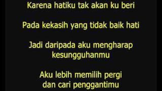 Astrid - Tak Ingin Dicintai [Lirik]