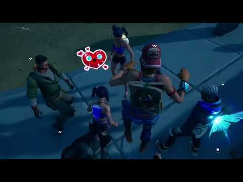 Perfect Timing Everybody's Emotes in Party Royale *They were all shocked* |