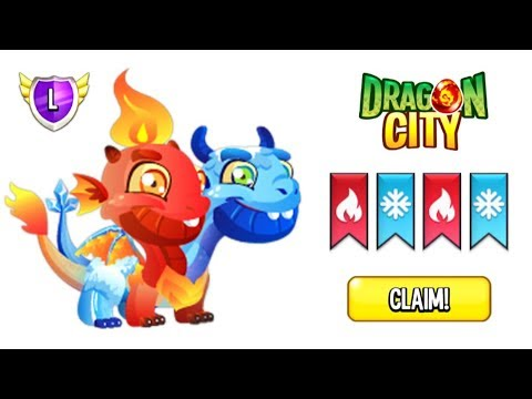 How To Breed ICE & FIRE Dragon In Dragon City 2019 😍