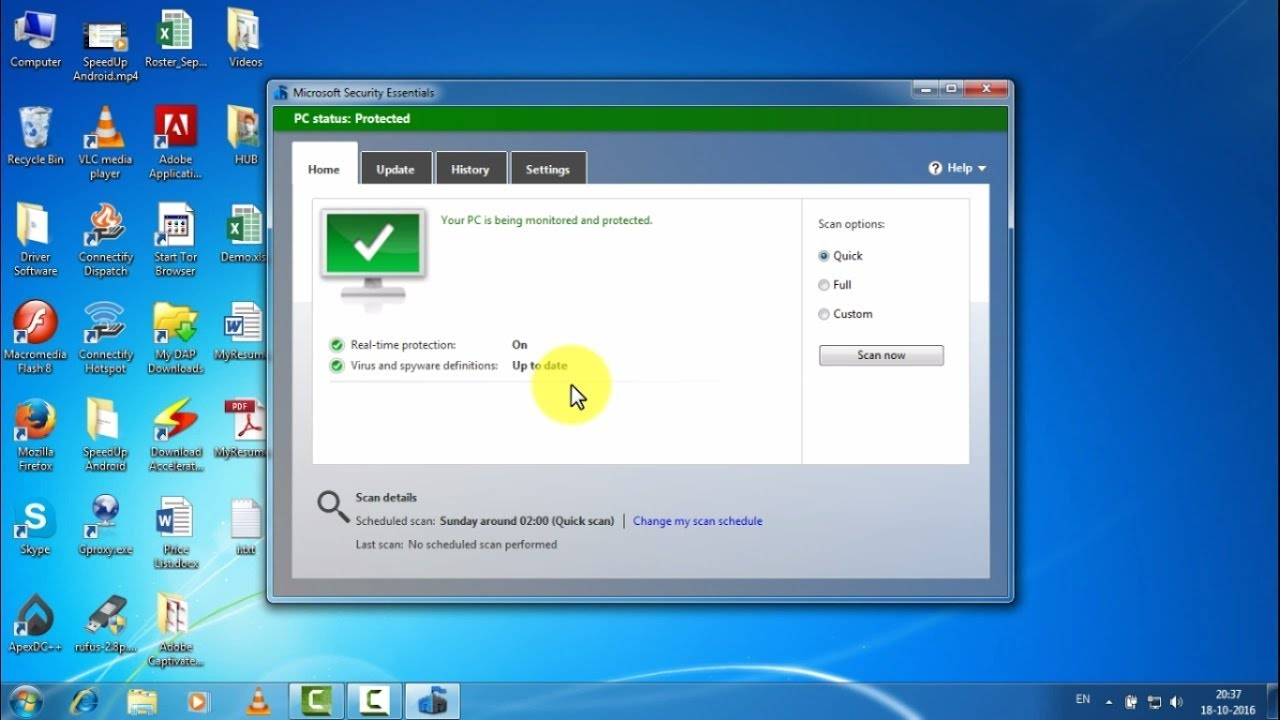 How to update offline Windows Defender, Microsoft Security ...