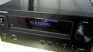 My new Pioneer X-HM10 FM/AM/CD/USB-player.