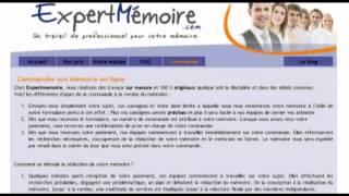 Expert Mémoire