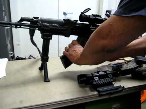 AK 47 Mounts,Magb release update, grip Pods - YouTube