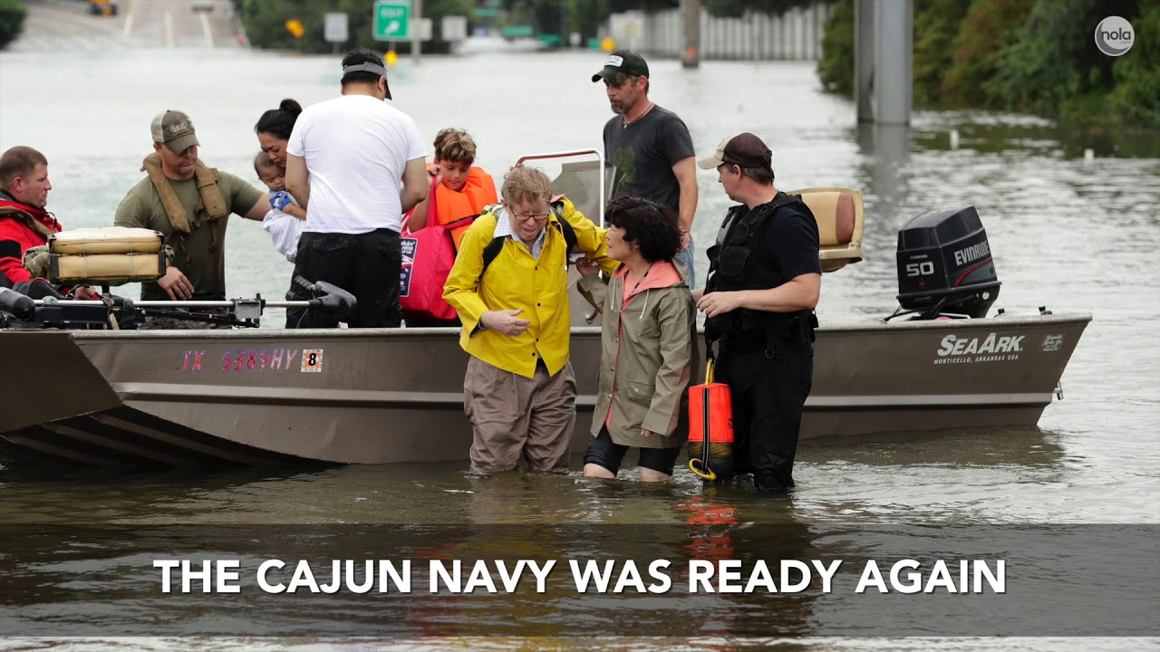 Unsung civilian heroes: The Louisiana Cajun Navy comes to the rescue of people ...