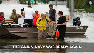 Hell or high water, it's the 'Cajun Navy' to the rescue