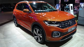 2019 Volkswagen T-Cross FR-Line - Exterior and Interior - Auto Show Brussels 2019