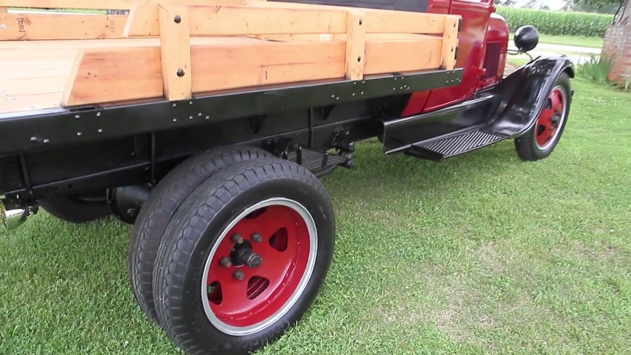 1929 Ford Model AA truck for sale - YouTube