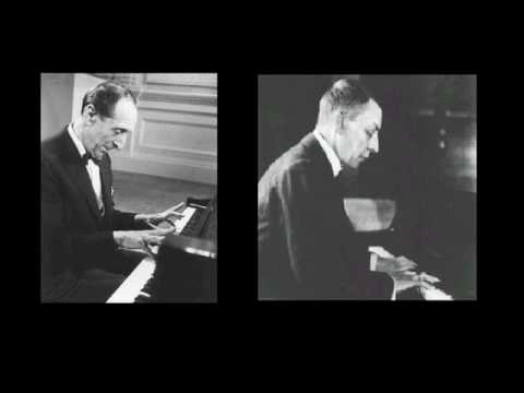 Horowitz plays Rachmaninoff piano sonata no2 in B-flat minor {2/3}