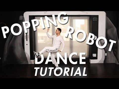 Popping - Robot Combo(Hip Hop Dance Moves Tutorial) | Mihran Kirakosian