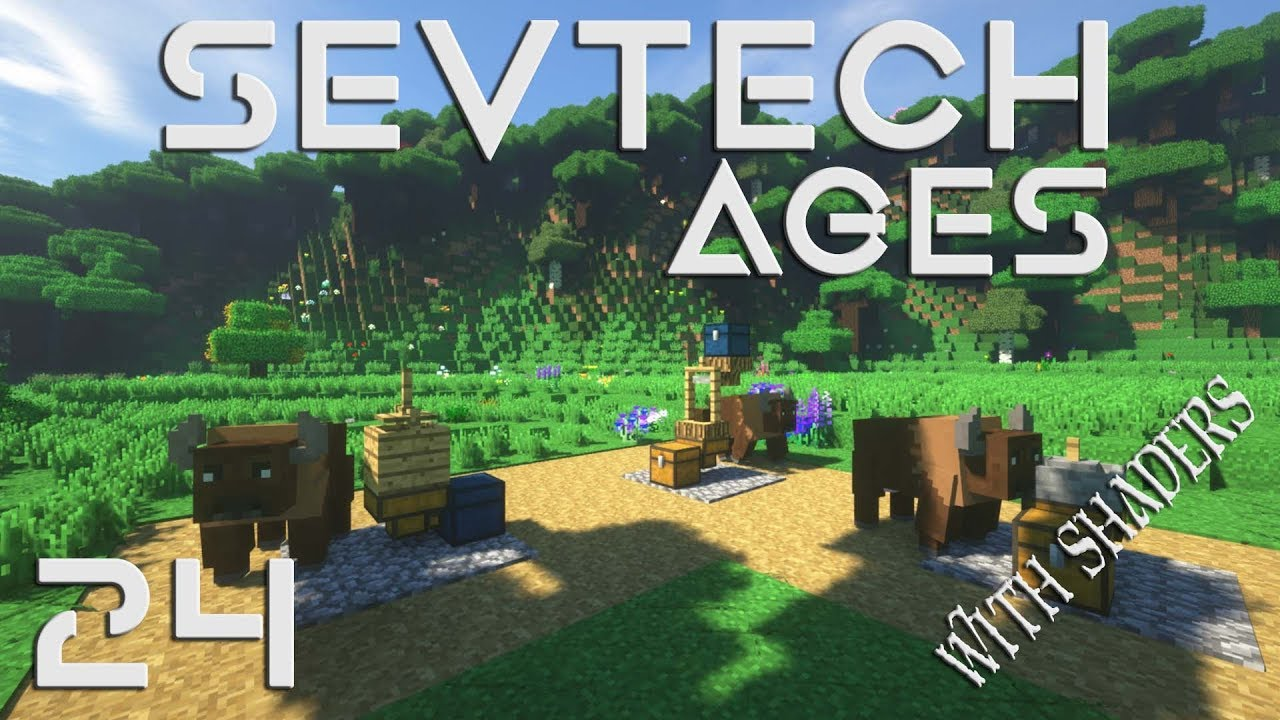 SevTech Ages | Episode 24 | Horse Powered Press