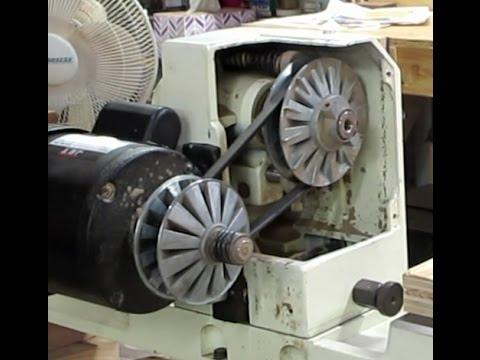 Jet Jwl 1236 Lathe Speed Change Pulley Repair Youtube