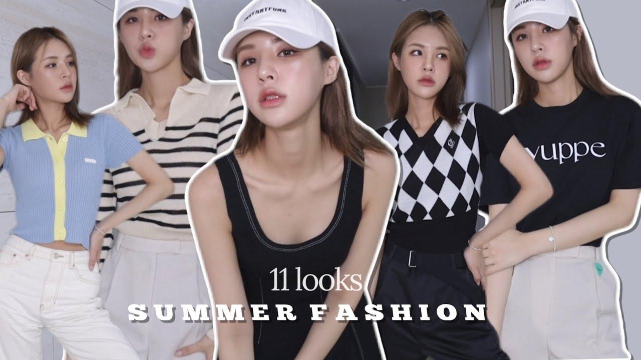 [subsoon] 예쁜옷 잔뜩! 여름맞이 패션하울🛍 데일리룩 11가지 | SUMMER FASHION HAUL | UNBOXING | 재유JEYU
