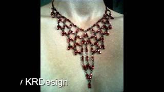 Hand made jewelry by KRD JEWELRY VIDEO.2010..wmv Hand made jewelry, by Krisztina Racz