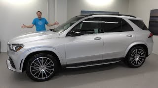 Mercedes-Benz GLE 2020 года - это превосходный люксовый внедорожник