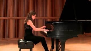 Manon Hutton-DeWys plays CPE Bach Sonata in A major, movement 3
