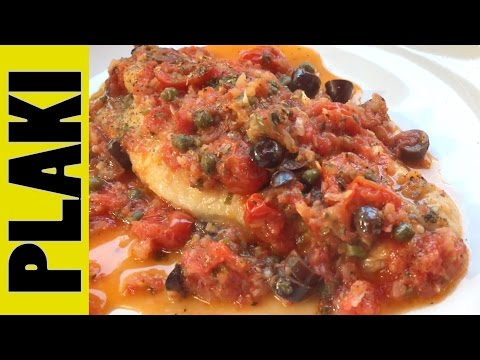 YiaYia's Greek Recipe   PLAKI Recipe (Any White Fish)