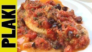 YiaYia's Greek Recipe | PLAKI Recipe (Any White Fish)