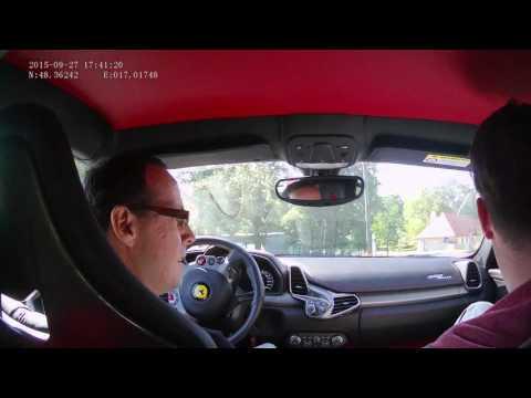 27. 09. 2015 - FERRARI 458 ITALIA - Drive in Slovakia