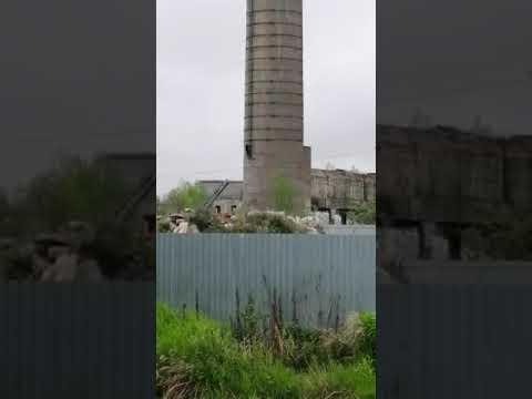 Мужчину сняли с трубы бывшего БУМ завода в Поронайске
