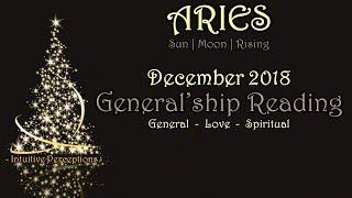 ARIES | Shine Bright Like A Diamond! Dec 2018 Love, Spiritual, & General Tarot Reading
